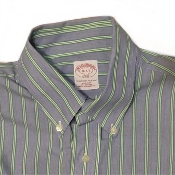 Brooks Brothers Other - Brooks Brothers 16-4/5 Blue No-Iron Dress Shirt